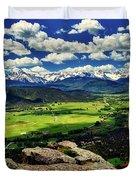 Pleasant Valley Colorado Duvet Cover