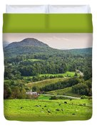 Pleasant Valley Countryside Duvet Cover