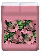 Pleasantly Pink Duvet Cover