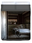Please Dont Turn Out The Light - Urban Exploration Duvet Cover