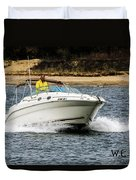 Pleasure Boat Duvet Cover