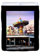 Pleasure Pier Duvet Cover