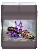 Plectranthus On Show Duvet Cover