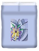 Pleiadean Sunflower Duvet Cover