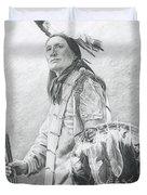 Taopi Ota - Lakota Sioux Duvet Cover by Brandy Woods