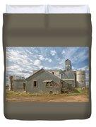 Plevna Grain Elevator Duvet Cover