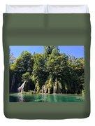 Plitvice Falls Duvet Cover