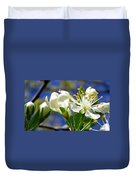 Plum Blossoms Duvet Cover