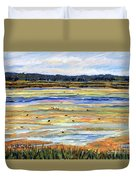 Plum Island Salt Marsh Duvet Cover