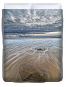 Plum Island Wave Energy Duvet Cover
