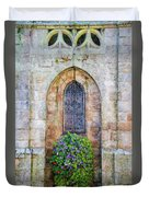 Plumergat, Brittany,france, Parish Church Window Duvet Cover