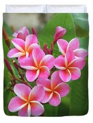 Plumeria After The Rain II Duvet Cover