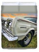 Plymouth Belvedere II  Duvet Cover
