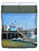 Plymouth Waterfront Duvet Cover