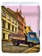 Plzen In Hdr Czech Republic Duvet Cover