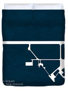 Pmr Palmerston North Airport In Palmerston North New Zealand Run Duvet Cover