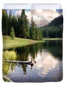 Poage Lake Duvet Cover