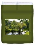 Pocket Lake Duvet Cover