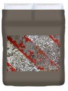 Pockmarked Concrete Duvet Cover