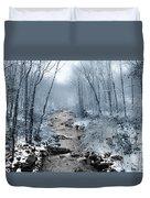 Pocono Mountain Winter Duvet Cover