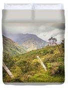 Podocarpus National Park Duvet Cover