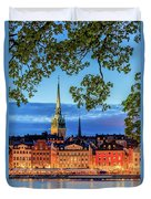 Poetic Stockholm Blue Hour Duvet Cover