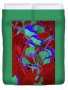 Poinciana Flower 8 Duvet Cover