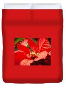 Poinsettia Duvet Cover