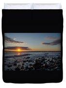 Point Allerton Sunrise - Nantasket Island Duvet Cover
