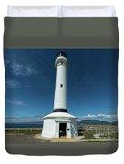 Point Arena Lighthouse  Duvet Cover