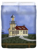 Point Cabrillo California Duvet Cover