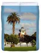 Point Fermin Light - San Pedro - Southern California Duvet Cover