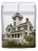 Point Fermin Lighthouse Duvet Cover