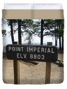 Point Imperial Duvet Cover