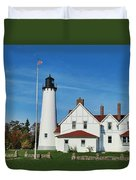 Point Iroquois Duvet Cover