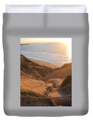 Point La Jolla Duvet Cover