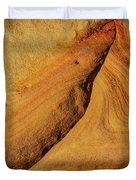Point Lobos Abstract 108 Duvet Cover