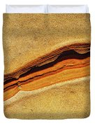Point Lobos Abstract 111 Duvet Cover