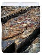 Point Lobos Rock 1 Duvet Cover