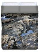 Point Lobos Rock 4 Duvet Cover