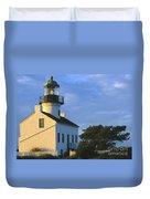 Point Loma Lighthouse Duvet Cover