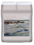 Point Of Action Duvet Cover