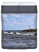 Point Pleasant New Jersey Duvet Cover