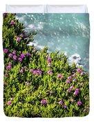 Point Reyes National Seashore Coast On Pacific Ocean Duvet Cover