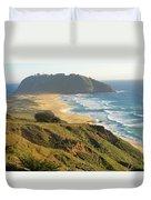 Point Sur National Park Duvet Cover