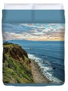 Point Vincente Lighthouse Duvet Cover