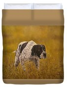 Pointer...to The Point....... Duvet Cover