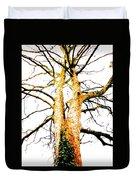 Pointillised Tree Duvet Cover