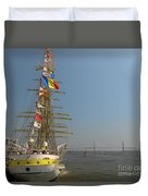 Pointing North Duvet Cover