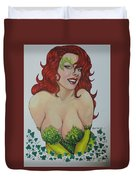 Poison Ivy Duvet Cover